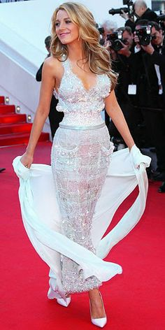 Blake Lively Style Guide: Captivating in Chanel Couture, Cannes 2014