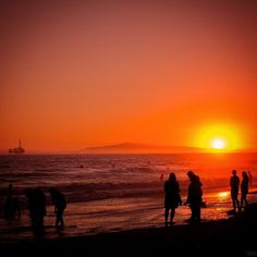 Watching the sunset after a Quicksilver Pro Surf event wrapped up and the Nikon NPS stand was closing in 2014 at Long Beach California. (from jetlagged memory)  West coast sunsets rock. @nikon #MyNikonLife #tour #editorial