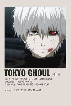 Tokyo Ghoul Minimalistic Anime Poster