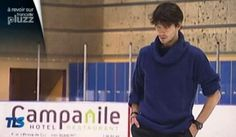 Stèph as a choreographer @ training with Florent Amodio, fall 2013