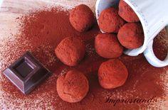 I tartufini al cioccolato e mascarpone sono una vera delizia per il palato, delicati ma decisi nel gusto.