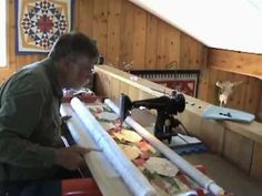 As requested flynn multi frame setup quilts pinterest utilizes your own sewing machine for an affordable version of a long arm machine quilting setup quilting bargain of the century frame kit makes a complete solutioingenieria Gallery