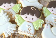 #Angels for #Baptism #cookies