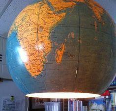Easy-to-Make Globe Lamp | My Inspired Class