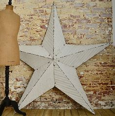 large barn star..always wanted one.