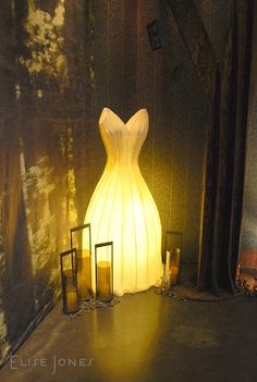 Dark fairytale room from BDNY11 trend walk