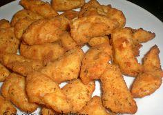 Foto principal de Lagrimitas de pollo maceradas Onion Rings, Kfc, Chicken Wings, Food And Drink, Tasty, Meat, Ethnic Recipes, Recipes, Fried Chicken Breast