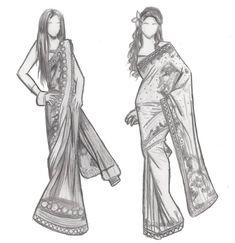 Rahul Mishra   Wedding Dress   Pinterest   Dress design sketches ...