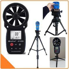 Holdpeak 866b anemómetro digital la mejor temperatura de enfriamiento del viento velocidad del viento medidor de velocidad del viento con luz de fondo