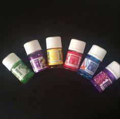 3mlx6 Base de Perfume Olor Aroma de Aceite Esencial de Jabón Hecho A Mano DIY Hecho A Mano Suministros de 6 Sabores