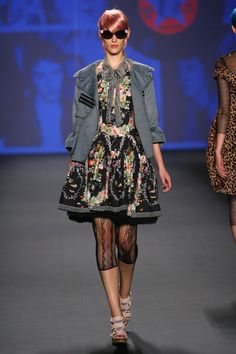 anna sui s/13  Look 11