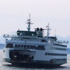 The Washington State Ferry system provides transportation across Puget Sound and to several islands in Washington State.  The most traveled route is the voyage from Seattle to Bainbridge Island.