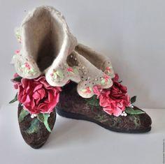 """Обувь ручной работы. Ярмарка Мастеров - ручная работа. Купить Валенки. Валенки для улицы """"Подарочные"""". Handmade. Валенки, валенки с рисунком"""