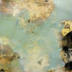 Azure by Sam Lock. Oils and Mixed Media on Canvas 90x90cm