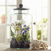 Found it at Wayfair - Faux Mixed Orchid Terrarium