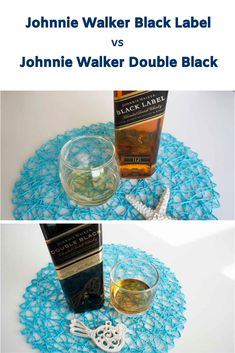 Whisky of the Week comparison between the Johnnie Walker Black vs Double Black Label blended whisky. Is Double Black really double the fun? Blended Whisky, Whisky Tasting, Malt Whisky, Whiskey, Label, Notes, Blog, Whisky, Single Malt Whisky
