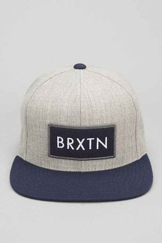 Brixton Rift Snapback Hat  - Urban Outfitters