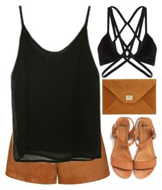 """simplicity"" by emilypondng ❤ liked on Polyvore featuring Ally Fashion"