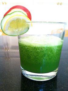 Apple Cucumber Spinach Juice