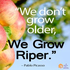 Pablo Picasso, one of the most renowned artists, reminds us that aging in a beautiful thing. Read our Inspirational Tips, Quotes and Poems.