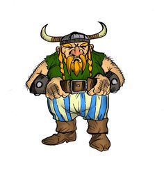 Aakon, uno de los infames vikingos de nuestro futuro juego.