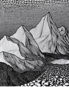 Closer, pen on paper - Lorene Kiraly Zentangle Drawings, Art Drawings, Zentangles, Guy Drawing, Painting & Drawing, Stylo Art, Arte Robot, Art Graphique, Pen Art