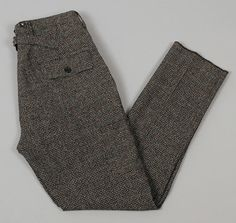 "FREEWHEELERS AND COMPANY - ""FITZGERALD"" TROUSERS, GREY AND GREEN GUNCHECK :: HICKOREE'S"