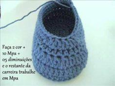 Crochet Slipper - Video Tutorial ❥ 4U // hf