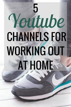 I prefer working out at home, but it can be difficult to find good workouts! These are my favorite YouTube channels for working out at home.