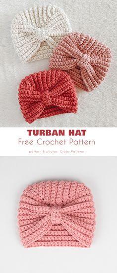 Crochet Baby Hats Free Pattern, Crochet Preemie Hats, Crochet Baby Beanie, Crochet Headband Pattern, Crochet Basket Pattern, Crochet Bebe, Baby Sweater Knitting Pattern, Crochet Baby Clothes, Baby Girl Crochet