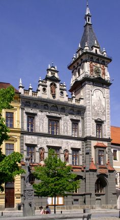 PRACHATICE Prague, Czech Republic, Clocks, Medieval, Beautiful Places, Country, Architecture, Building, Travel