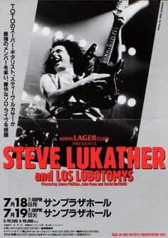 Steve Lukather And Los Lobotomys.