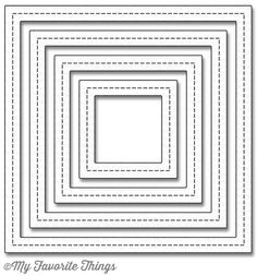 Die-namics Single Stitch Line Square Frames