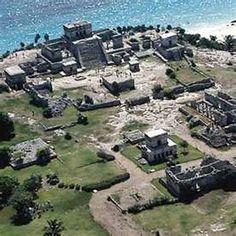 esto es las ruinas de Tulum. ellos son localizados en México. ellos son muy…