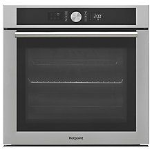 Buy Hotpoint SI4854HIX Built In Electric Single Oven, Stainless Steel Online at johnlewis.com