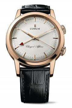 Corum Chargé d'Affaires #luxurywatch #Corum-swiss Corum Swiss Watchmakers watches #horlogerie @calibrelondon