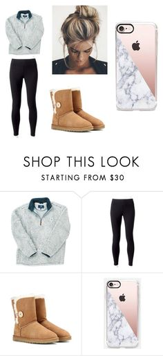 """Untitled 208"" by bre-winter ❤ liked on Polyvore featuring Jockey, UGG Australia and Casetify"