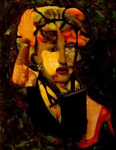 "Saatchi Art Artist CARMEN LUNA; Collage, ""16-GOYA by Carmen Luna."" #art"