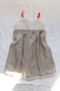 sweet silk little girl dress #makie