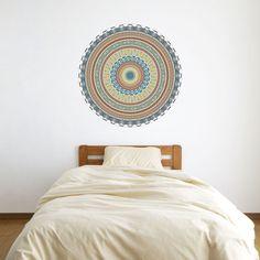 African Mandala Vinyl Wall Art Sticker by VinylRevolution on Etsy, £19.99   I want this!!