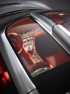 Spyker C8 sun roof and steel dashboard