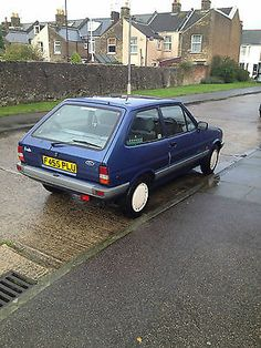 Ford Fiesta Mk2 1.1 Festival, T&t Genuine 29tho Miles, Full Service History   - http://classiccarsunder1000.com/archives/17456