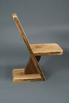 Spalted Maple with Black Walnut Chair image 1 Diy Furniture Chair, Diy Chair, Rustic Furniture, Woodworking Furniture Plans, Woodworking Projects, Walnut Chair, Spalted Maple, Diy Wood Projects, Stools
