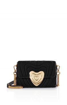7f54910cc62d Small Velvet Heart Bag | ESCADA US Velvet Heart, Shoulder Strap, Stairs