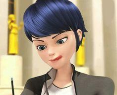Marinette as a boy (Miraculous Ladybug, gender bend, genderbent)