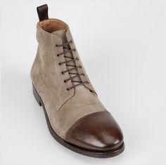 Paul Smith Shoes - Khaki Cesar Boot - £285.00 - #want this to @PaulSmithDesign