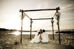 Boda romantica en Formentera