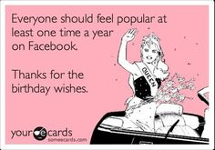 Image result for someecards thanks for the birthday wishes