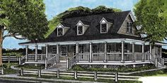 Farmhouse House Plan chp-28628 at COOLhouseplans.com