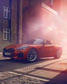 BMW First Edition in Frozen Orange Metallic Bmw Z4, Porsche, Audi, Automobile, Toyota, Bmw Concept, New Bmw, Dream Team, Rolls Royce
